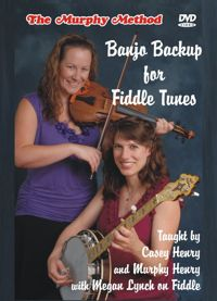 Banjo Backup For Fiddle Tunes DVD cover