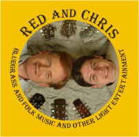 Red and Chris CD cover